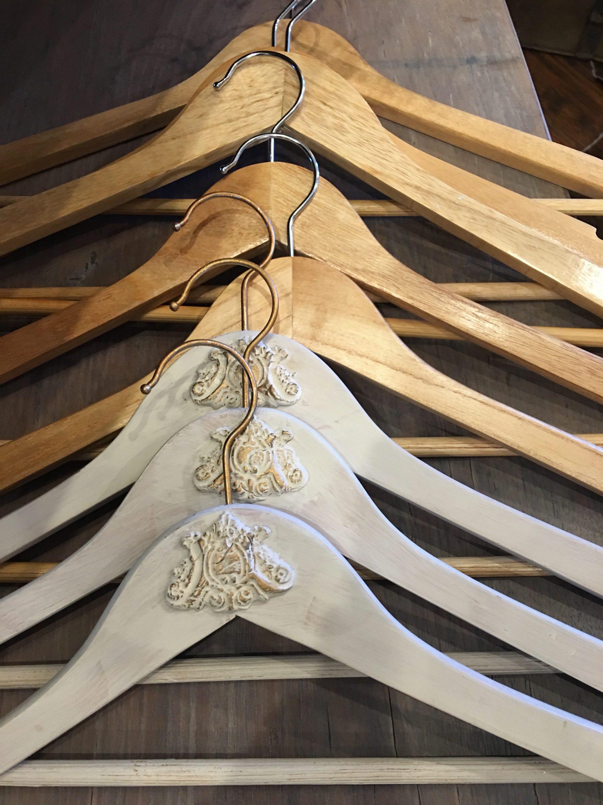 embellished guest hangers
